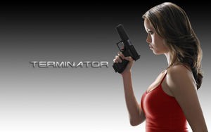 Summer glau terminator red by micro5797