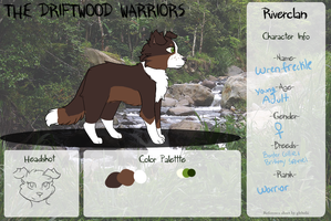 Wrenfreckle | RiverClan | Warrior by pvpsi