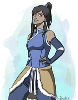 Korra's new outfit by jlee-bean