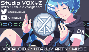 Studio VOXYZ Business Card by MystSaphyr