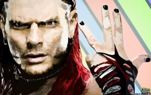 Jeff Hardy Vector by sologfx