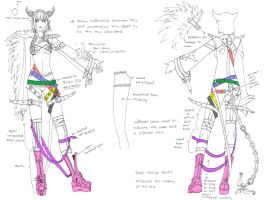 Cosplay sheet: Bael by Wen-M