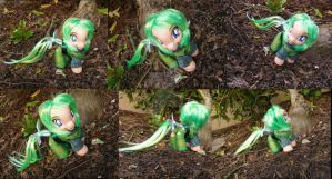 LoZ Saria custom by LightningSilver-Mana