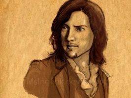 A Quick Sketch of Dorian Gray by MsInglink