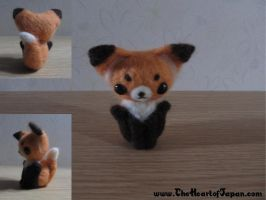 Felt Fox by TheHeartofJapan