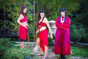Ladies of the Fire Nation! by YourLittleBocchan