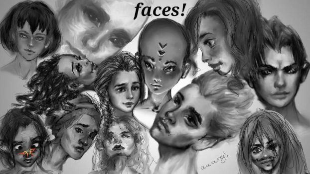 face practise by Mckendryhr