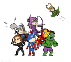 Avenger time! by GoreChick