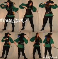 PiratePack3 DelightfulStock by DelightfulStock