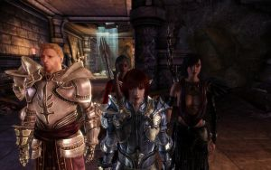 Dragon age current party by rozenpuppetmaster