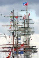 Tall ship mastheads by printsILike
