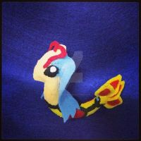 Shiny Milotic Plushie by Raysketchit94