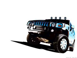 Hummer H2 Vector by chris16