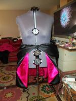 Bustle skirt FRONT by CeshionCo