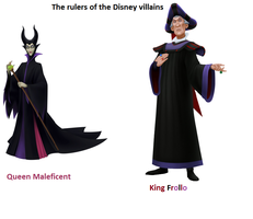 The rulers of the Disney villains by FroShaDar