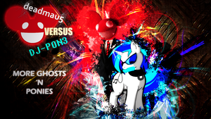 DJ-PON3 BG feat. deadmau5 by Vividkinz