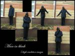 Man in black stock pack by Mithgariel-stock