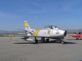 North American F-86 Sabre by Jetster1