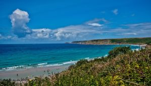 Beautiful Sennen Cove by forgottenson1