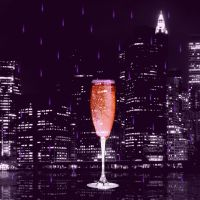Pink champagne by mxrshmellow