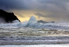 Rough Sea by cprmay