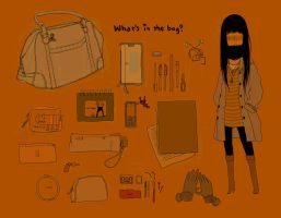 What's in my bag? by necosanma