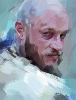 Painting of Ragnar from Vikings by DatoKikna
