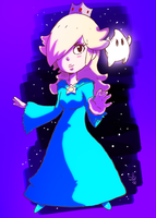 Rosalina and Luma Cuties by spenzbowart