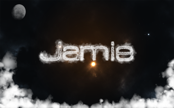Name In The Clouds by RiotJamie