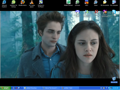Edward and Bella squee wallie by GraceOh