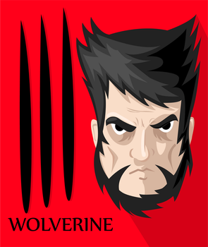 Wolverine Vector by fahimed