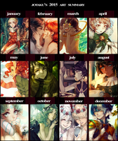 2015 Art Summary by Jotaku