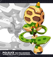 Megaman ZX Ultimus - Polslice the Pollinoroid by ultimatemaverickx