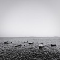 the black and white sea no.4 by herbstkind
