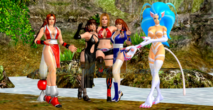 Felicia and Mai Introduces the DOA Girls by NekoHybrid
