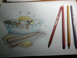 Naruto eating ramen by mysterious9girl9