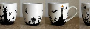 Lord of the Rings Mug by AucoinArt