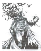 Dark knight Comic Book Cover.. by WikkedOne