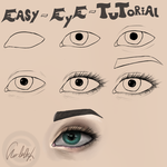Easy Eye Tutorial by cha-lie