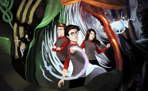 Harry Potter: the Pensieve by aocom