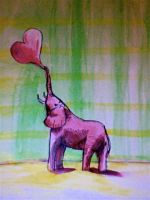 pink elephant by unintended42