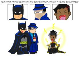 DTS: Comic-Con Page 1 by avidcartoonfans