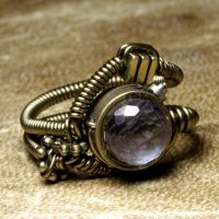 Steampunk Ring Mystic by CatherinetteRings