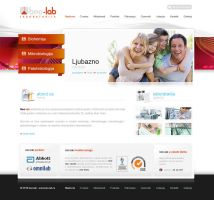 Laboratory Web Design by lKaos
