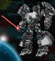 Death star vader transformer by Prowler974