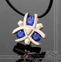 Zoras Sapphire Pendant by mooredesign13