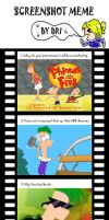 My Phineas and Ferb meme by ShantalUsagi