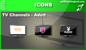 TV Channel Icons - Adult by od3f1