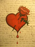 Bleeding love by millionfaces