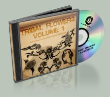 Tribal Flowers Brushes Vol. 1 by OIlusionista-brushes